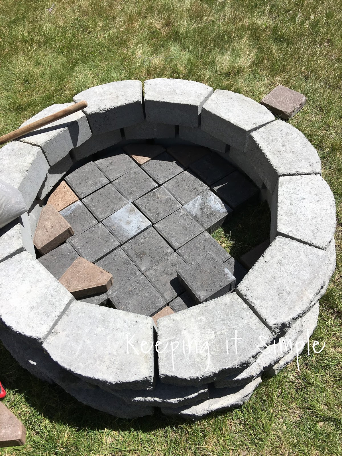 Best ideas about DIY Small Fire Pit . Save or Pin How to Build a DIY Fire Pit for ly $60 • Keeping it Now.