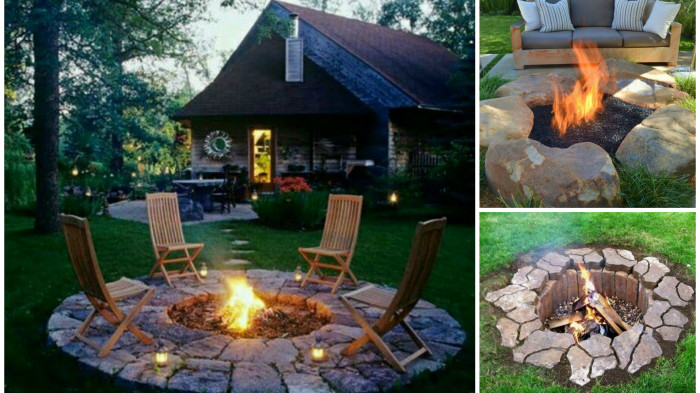 Best ideas about DIY Small Fire Pit . Save or Pin 33 DIY Fire Pit Ideas Now.