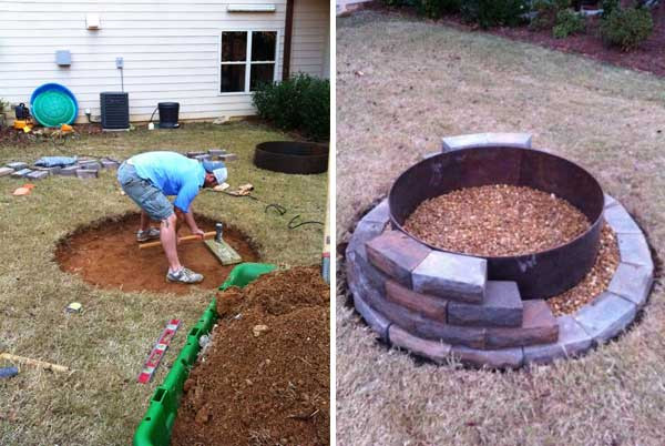 Best ideas about DIY Small Fire Pit . Save or Pin 38 Easy and Fun DIY Fire Pit Ideas Now.