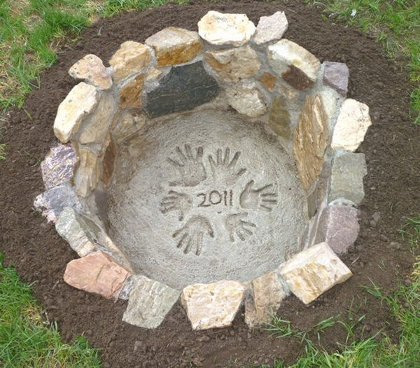 Best ideas about DIY Small Fire Pit . Save or Pin 35 DIY Fire Pit Ideas Hative Now.