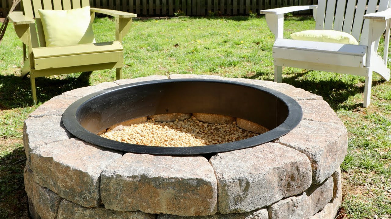 Best ideas about DIY Small Fire Pit . Save or Pin How to Build a DIY Fire Pit in Your Backyard Thrift Now.