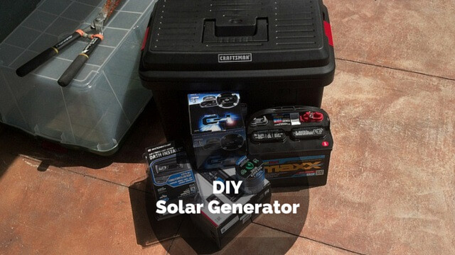 Best ideas about DIY Solar Generator Kit . Save or Pin DIY Solar Generator The Homesteading Boards Now.