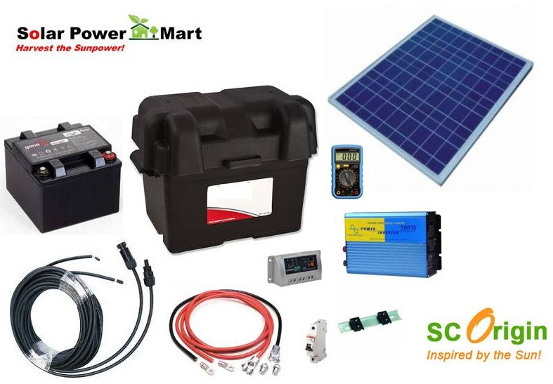 Best ideas about DIY Solar Generator Kit . Save or Pin Solar Power Mart DIY Kit solar Power green lighting Now.