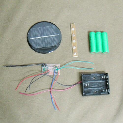 Best ideas about DIY Solar Light Kit . Save or Pin 3 6V Solar Auto Light DIY Kit 5 LEDs Now.