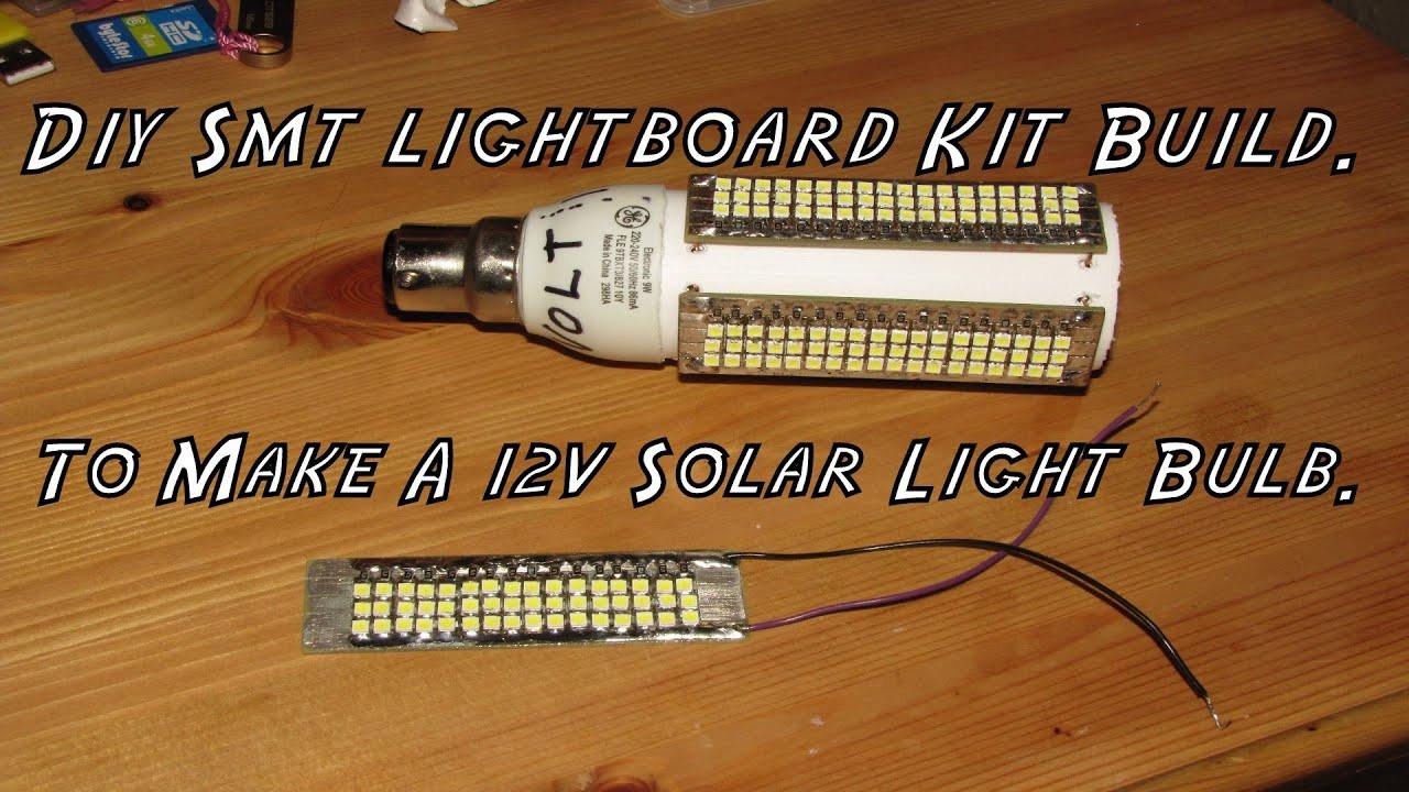 Best ideas about DIY Solar Light Kit . Save or Pin Diy Smd Led light Kit Build To Make A 12v Solar Light Now.