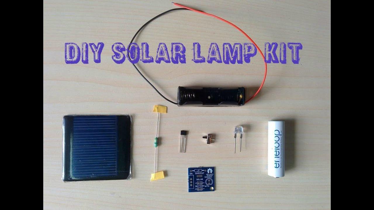 Best ideas about DIY Solar Light Kit . Save or Pin DIY SOLAR LAMP KIT V1 0 Now.