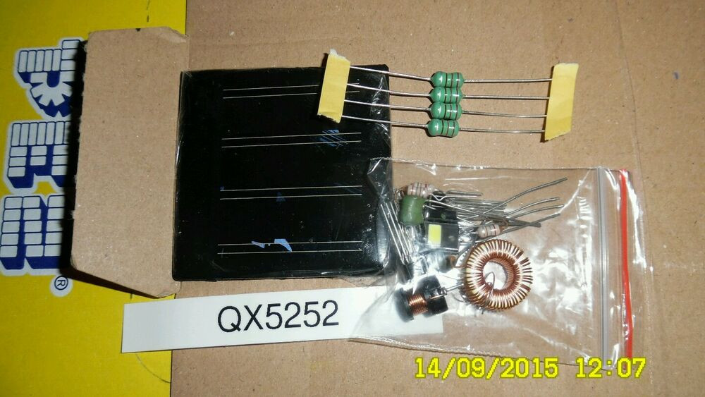 Best ideas about DIY Solar Light Kit . Save or Pin Qx5252 yx8018 solar garden light DIY kit Now.
