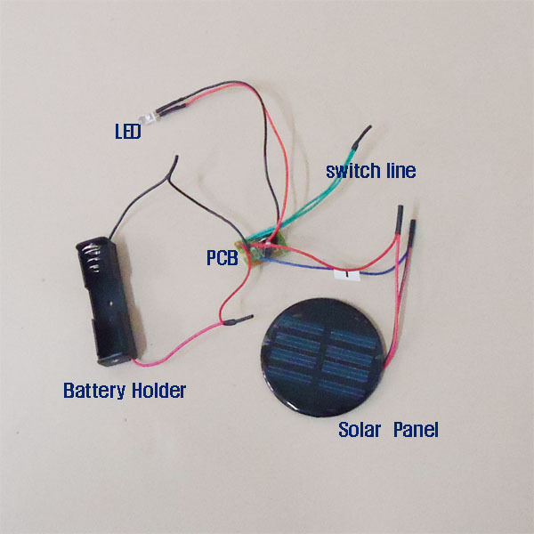 Best ideas about DIY Solar Light Kit . Save or Pin Solar Auto Light Red Green Blue color changing DIY Kit Now.