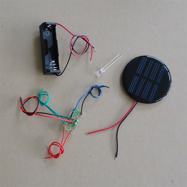 Best ideas about DIY Solar Light Kit . Save or Pin Solar Auto Light DIY Kit Round Solar Panel one led white Now.