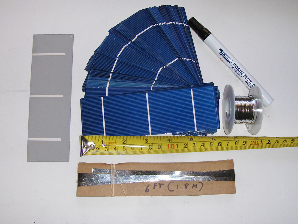 Best ideas about DIY Solar Panel Kit . Save or Pin 40 2x6 52x156 mm solar cells DIY solar panel kit 40 Now.