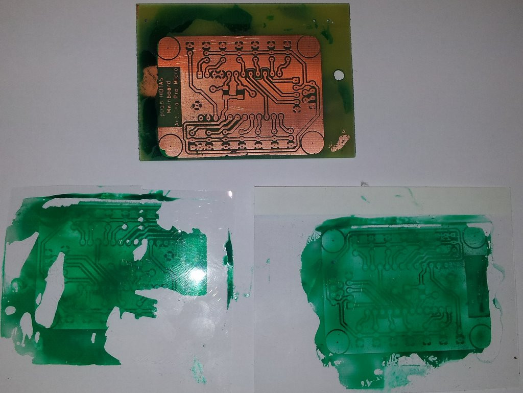 Best ideas about DIY Solder Mask . Save or Pin diy UV solder mask sticking to cover instead of PCB Now.