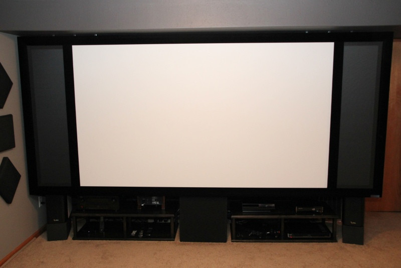 Best ideas about DIY Sound Masking . Save or Pin Seymour AV Fixed Frame AT Screen with AT Masking Panels Now.