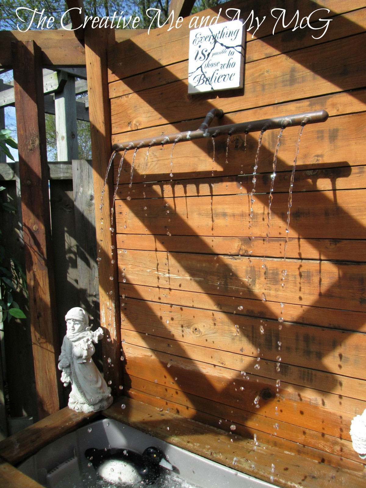 Best ideas about DIY Sound Masking . Save or Pin The Creative Me and My McG DIY Water Feature Now.