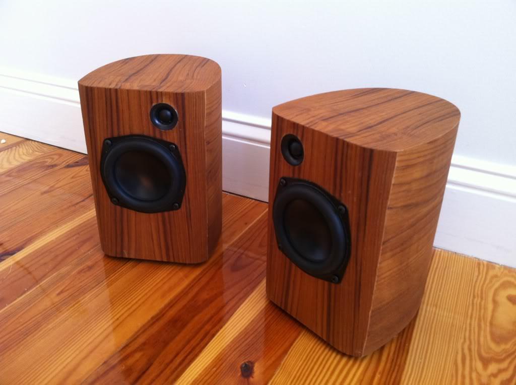 Best ideas about DIY Speaker Cabinet . Save or Pin Redditor creates amazing repurposed hi fi speakers Now.