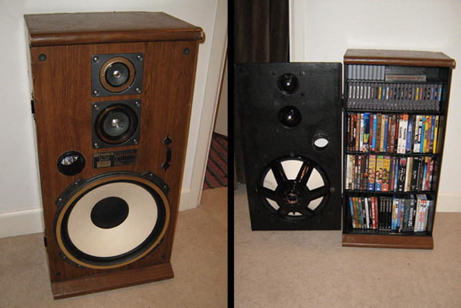 Best ideas about DIY Speaker Cabinet . Save or Pin 7 Creative Projects to Repurpose or Recycle Old Speakers Now.