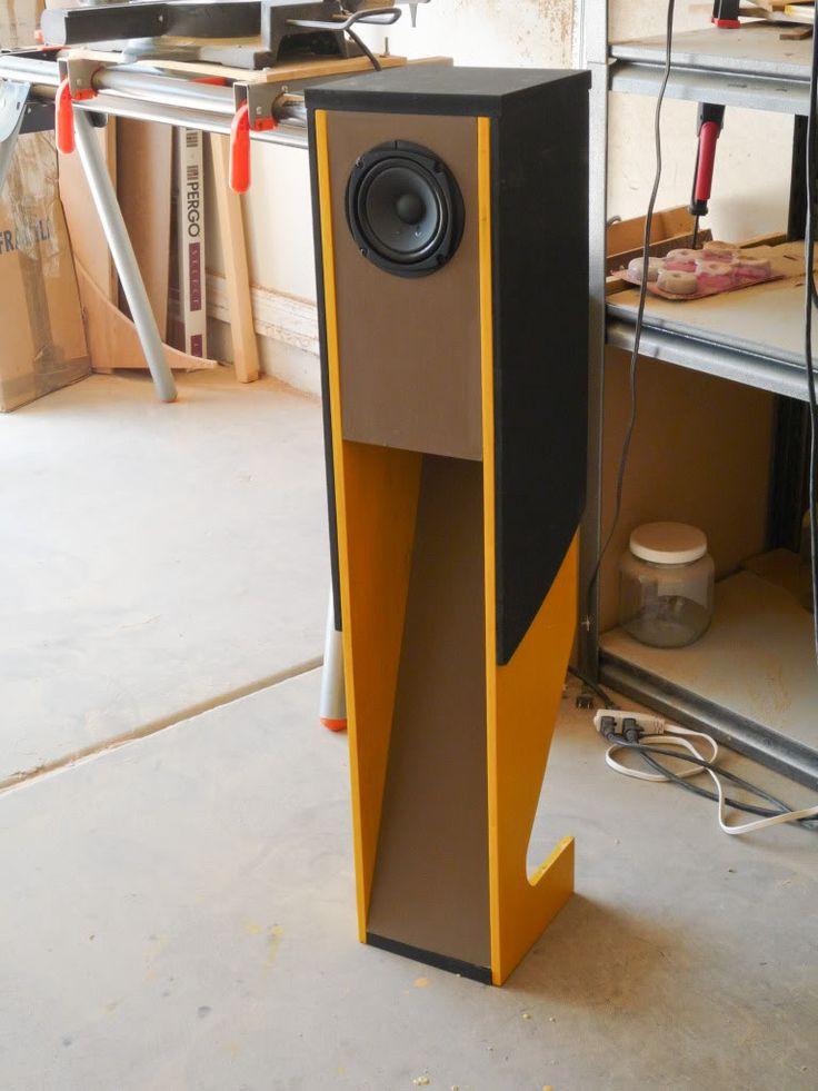 "Best ideas about DIY Speaker Plans . Save or Pin Suzy Chang speaker design using Pioneer 4 5"" fullrange Now."