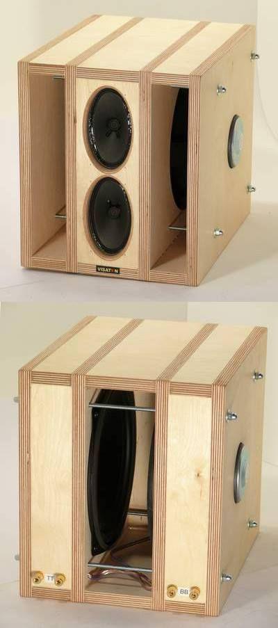Best ideas about DIY Speaker Plans . Save or Pin Speakers interesting Speaker Box Now.