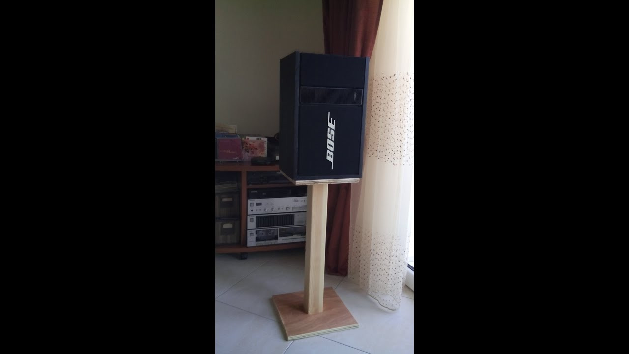 Best ideas about DIY Speaker Stands . Save or Pin how to make diy speaker stands low cost Now.