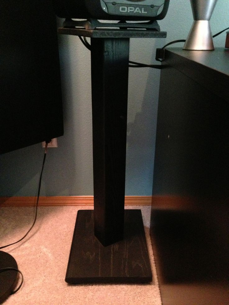 Best ideas about DIY Speaker Stands . Save or Pin Best 25 Surround sound speaker stands ideas on Pinterest Now.