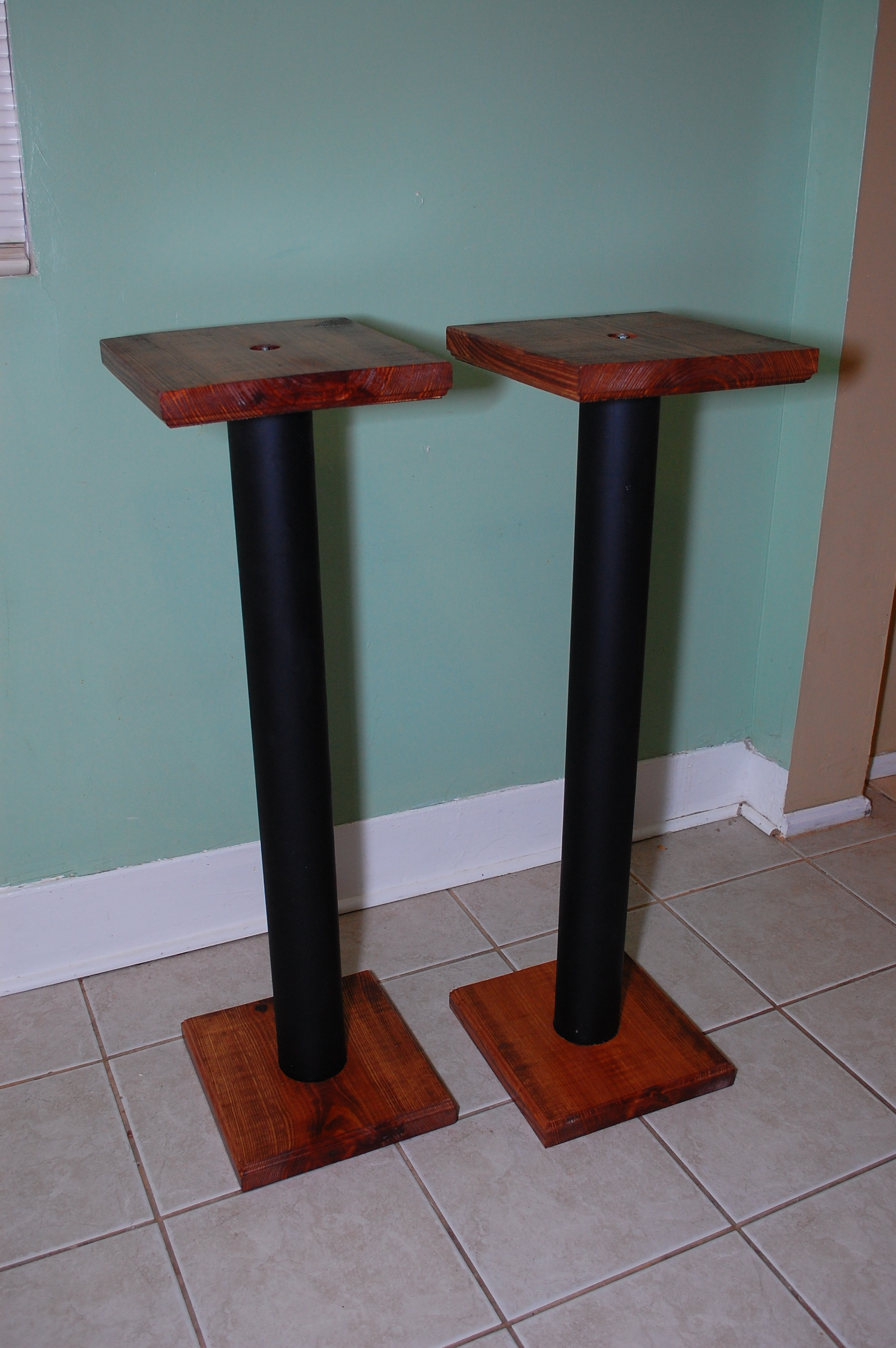 Best ideas about DIY Speaker Stands . Save or Pin Jordan Colburn Great DIY Speaker Stands for $30 Now.
