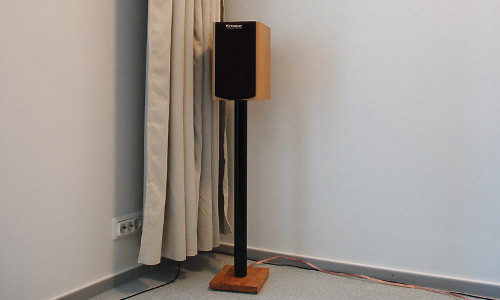 Best ideas about DIY Speaker Stands . Save or Pin DIY Cable Organising IKEA Speaker Stand Now.
