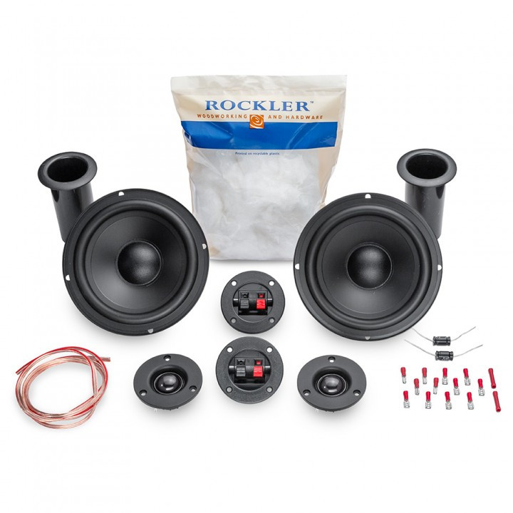 Best ideas about DIY Speakers Kit . Save or Pin The New Rockler DIY Speaker Kit – Banish The Plywood Now.
