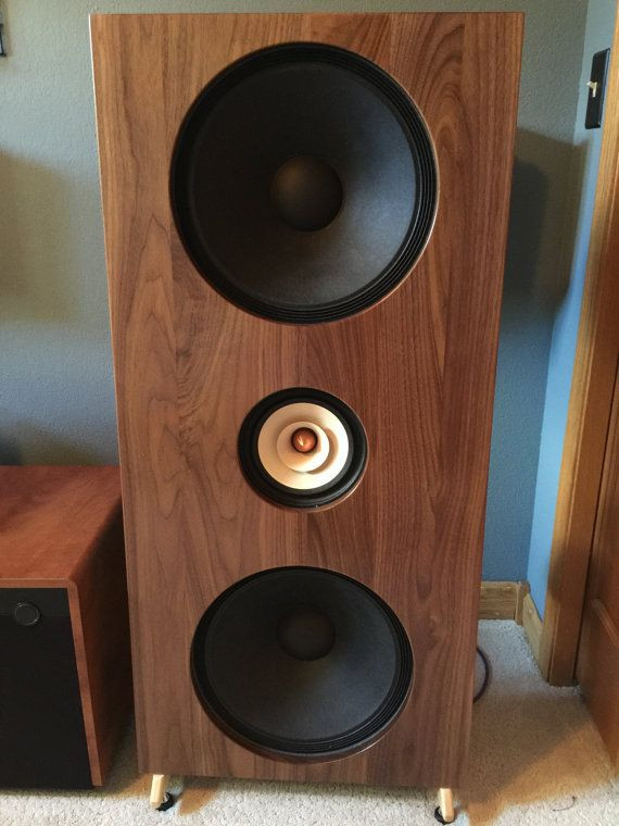 Best ideas about DIY Speakers Kit . Save or Pin This is a Do It Yourself OPEN BAFFLE solid wood speaker Now.