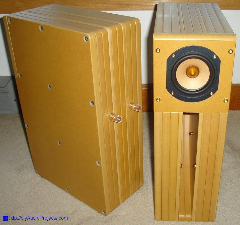 Best ideas about DIY Speakers Kit . Save or Pin Tang Band D4 1 DIY Back Horn Speaker Kit Now.