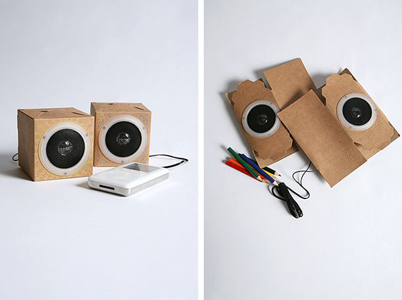 Best ideas about DIY Speakers Kit . Save or Pin DIY Speakers Kit es With Cardboard Housing Colored Now.