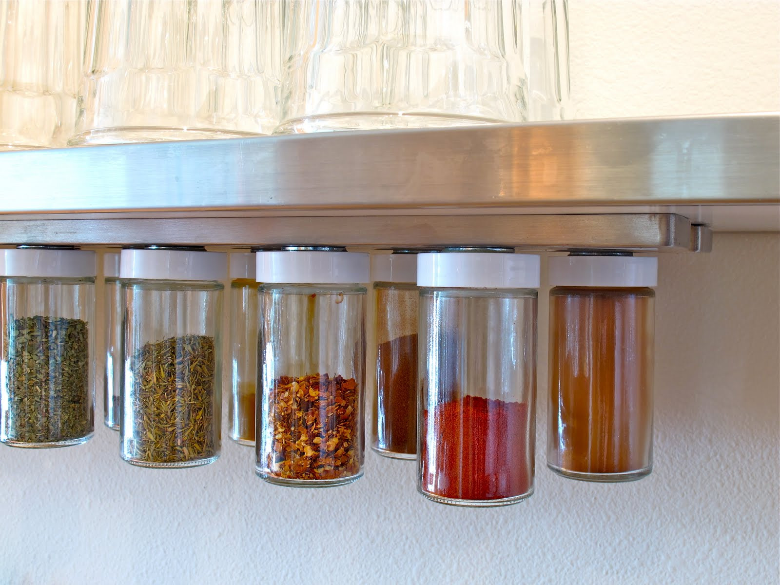 Best ideas about DIY Spice Organizer . Save or Pin BluKatKraft DIY Hanging Magnetic Spice Rack Storage Now.