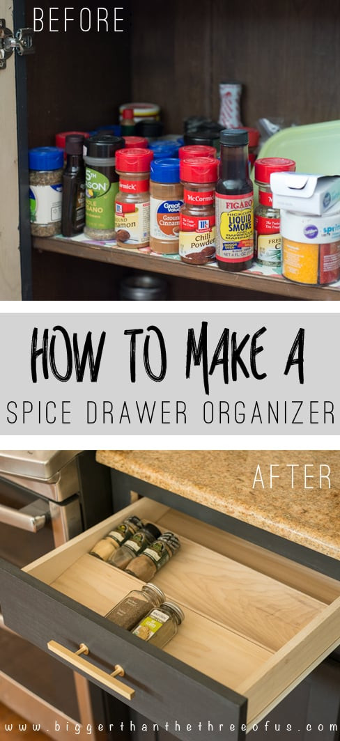 Best ideas about DIY Spice Organizer . Save or Pin Get Organized with this DIY Spice Drawer Organizer Now.