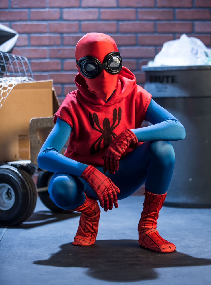 Best ideas about DIY Spiderman Mask . Save or Pin DIY Spider Man Home ing Halloween Costume Halloween Now.