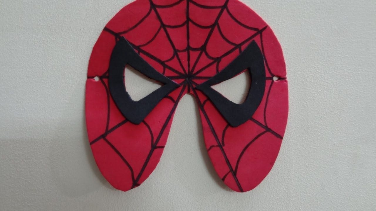 Best ideas about DIY Spiderman Mask . Save or Pin Paper Crafts Foam Crafts for Kids Now.