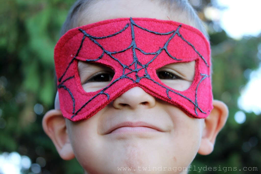 Best ideas about DIY Spiderman Mask . Save or Pin No Sew SUPER HERO COSTUMES Tutorial Dragonfly Designs Now.