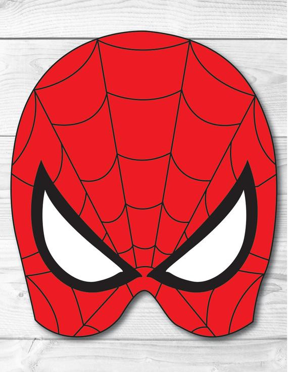 Best ideas about DIY Spiderman Mask . Save or Pin Spiderman DIY Face Mask Instant Download Paper Printable Now.