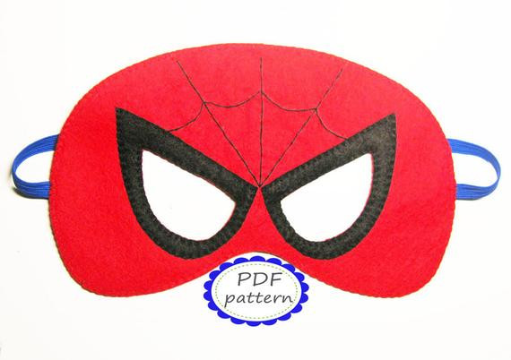 Best ideas about DIY Spiderman Mask . Save or Pin Unavailable Listing on Etsy Now.