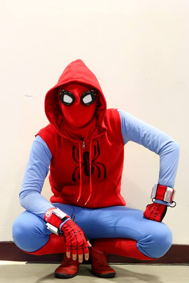 Best ideas about DIY Spiderman Mask . Save or Pin Peter Parker's Homemade Spider Man Suit Costume Adafruit Now.