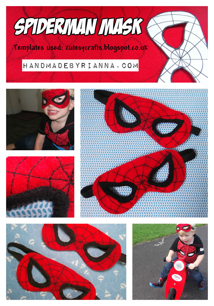 Best ideas about DIY Spiderman Mask . Save or Pin DIY Spiderman Masks s and for Now.