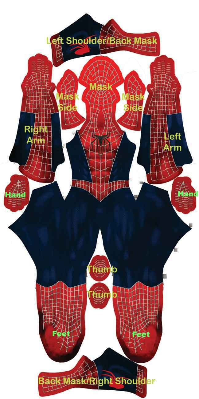 Best ideas about DIY Spiderman Mask . Save or Pin diy Spiderman costume Costumes Pinterest Now.