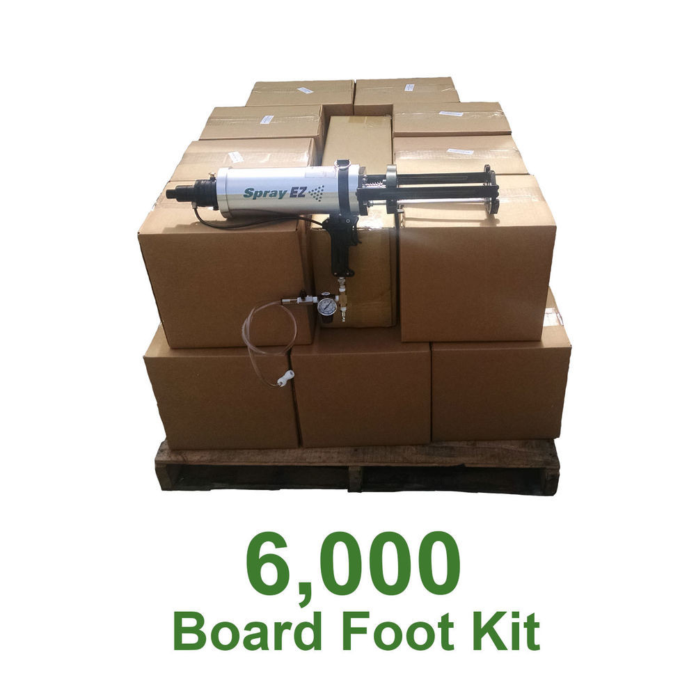 Best ideas about DIY Spray Foam Kits . Save or Pin DIY Spray Foam Insulation Closed Cell 2 lb 6000 board foot Now.