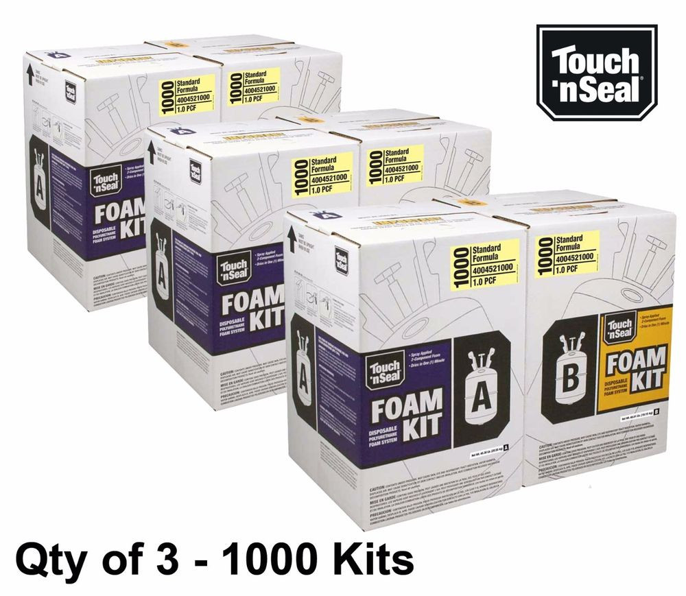 Best ideas about DIY Spray Foam Kits . Save or Pin Touch N Seal 1000 Kit Open Cell Spray Foam Insulation Kit Now.