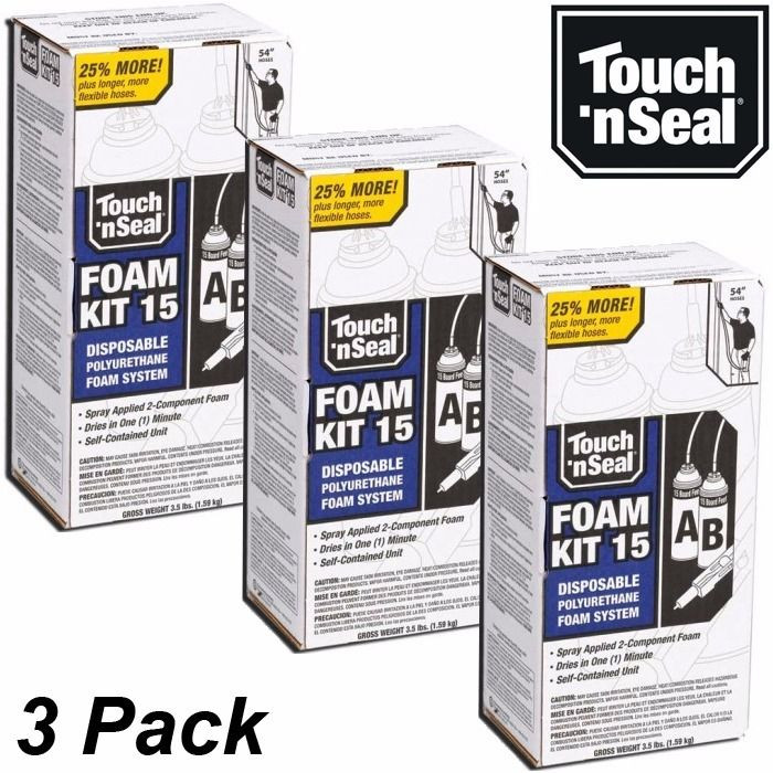 Best ideas about DIY Spray Foam Kits . Save or Pin Touch N Seal DIY Spray Foam Insulation Kit 15 BF Closed Now.