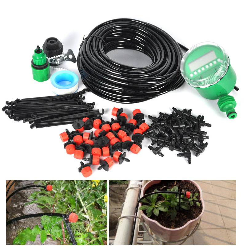 Best ideas about DIY Sprinkler System Kits . Save or Pin DIY Micro plete Drip Irrigation Watering Kit Automatic Now.