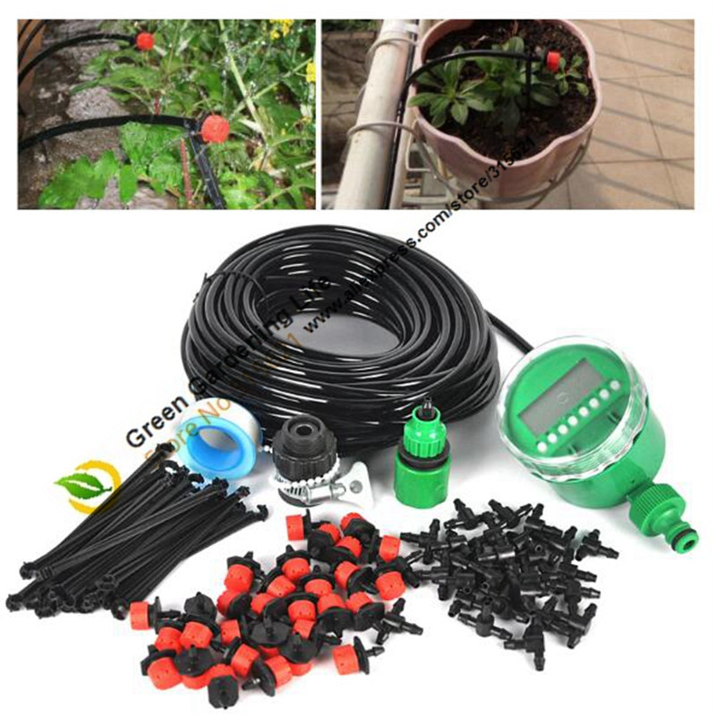 Best ideas about DIY Sprinkler System Kits . Save or Pin 4 7mm 30m DIY Drip Irrigation System Garden Hose Kits 30 Now.