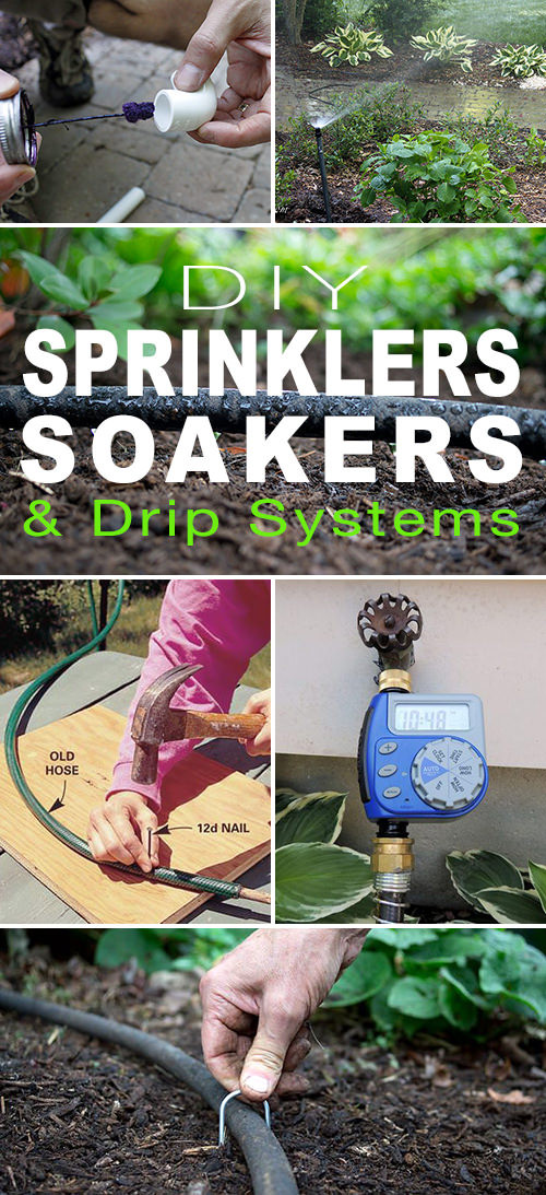 Best ideas about DIY Sprinkler System Kits . Save or Pin DIY Sprinklers Soakers & Drip Systems Now.