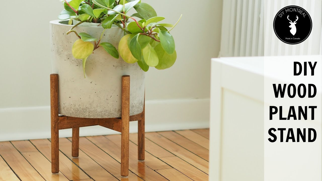 Best ideas about DIY Stand For . Save or Pin DIY Wood Plant Stand Now.