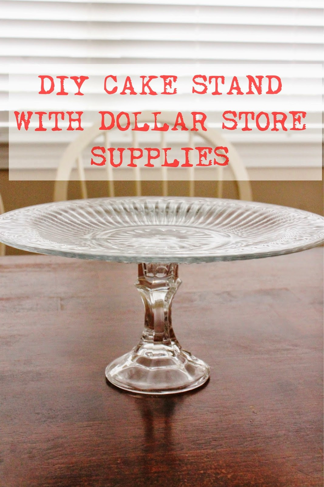 Best ideas about DIY Stand For . Save or Pin DIY Cake Stand The Happy Flammily Now.
