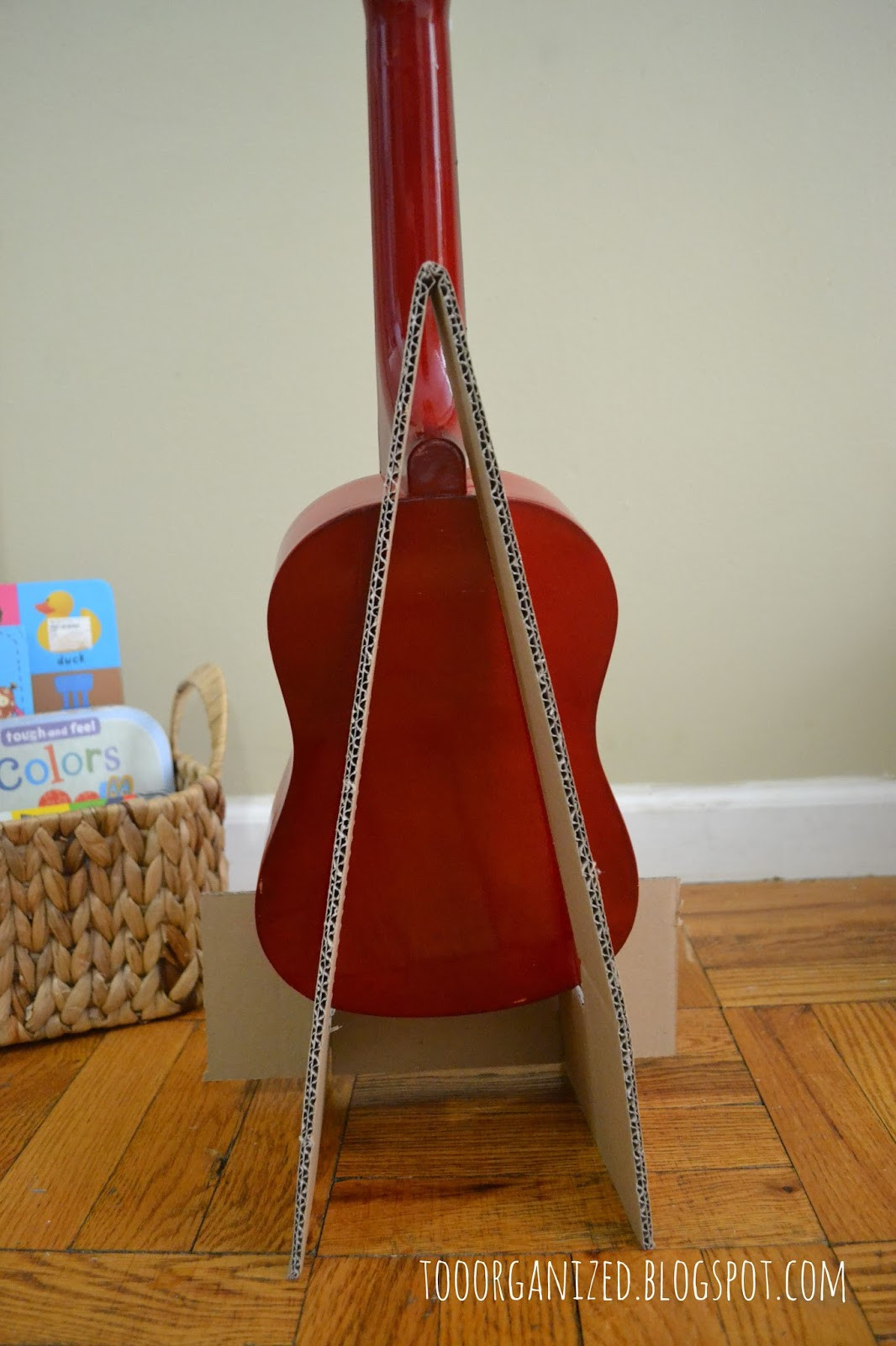 Best ideas about DIY Stand For . Save or Pin DIY CARDBOARD GUITAR STAND Now.
