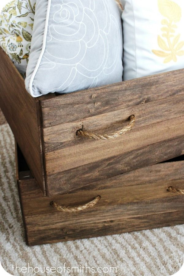 Best ideas about DIY Storage Box Wood . Save or Pin How To Make A Wooden Storage Box WoodWorking Projects Now.