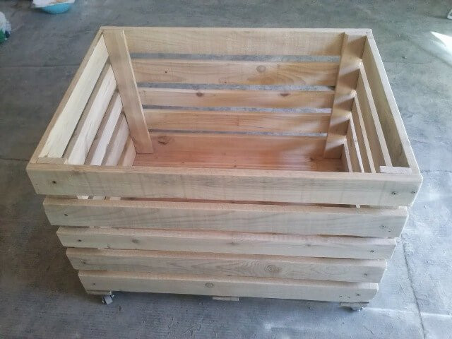 Best ideas about DIY Storage Box Wood . Save or Pin DIY Wooden Pallet Storage Box Now.